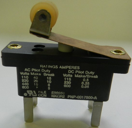 1950 on gemco rotary cam switch