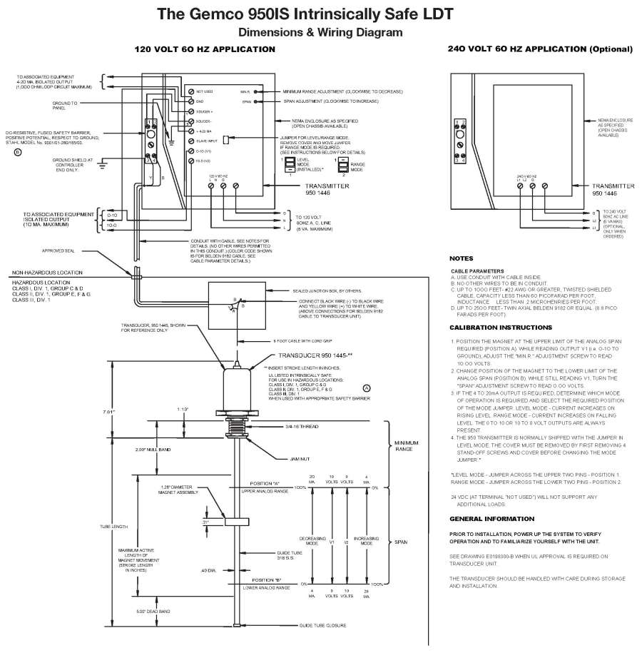 950IS 3 gemcodirect com products linear feedback 950is intrinsically safe barrier wiring diagram at edmiracle.co