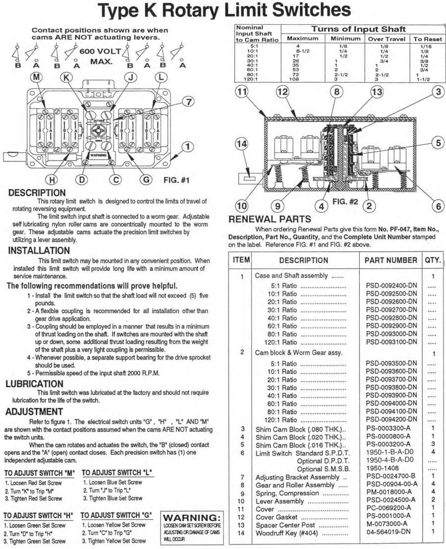 Wiring Limit Switches In Series Com